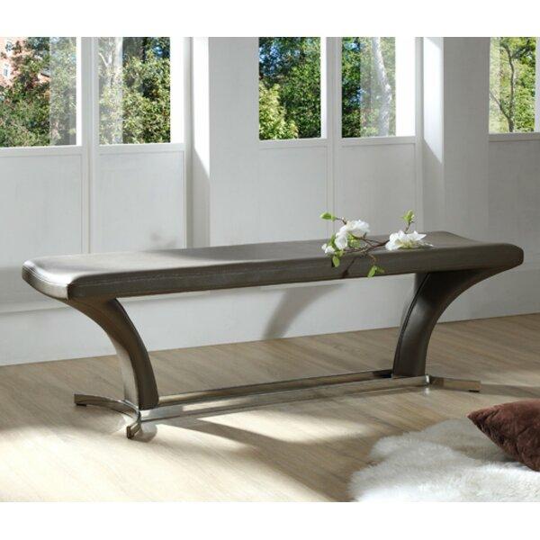 Clower Upholstered Bench by Orren Ellis
