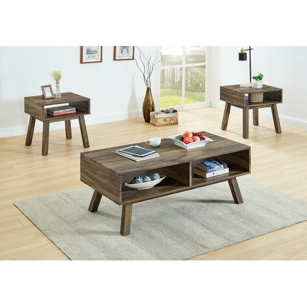 Advait 3 Piece Coffee Table Set by Foundry Select Foundry Select