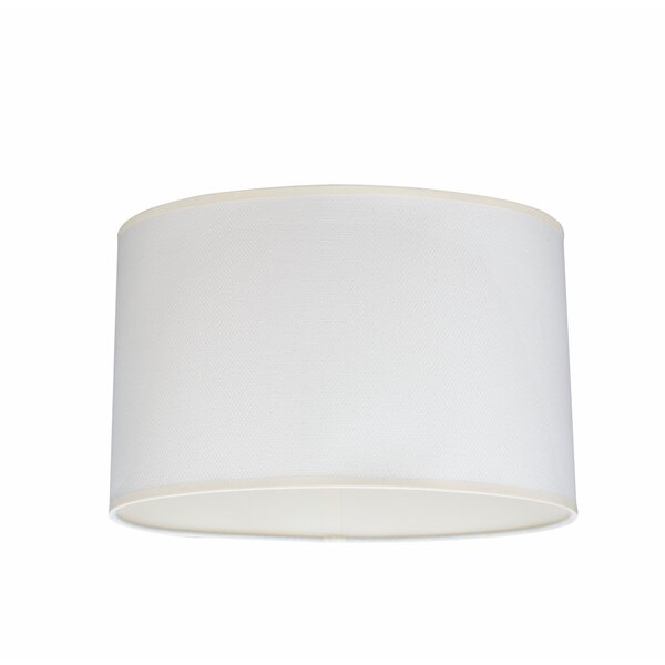 15.5 Linen Oval Lamp Shade by Aspen Creative Corporation
