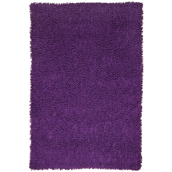 Shagadelic Hand-Loomed Purple Area Rug by St. Croix