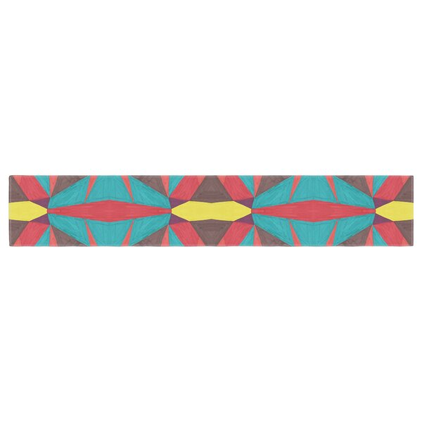 Empire Ruhl Abstract Insects Table Runner by East Urban Home