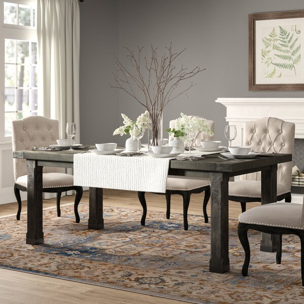 Best Choices Madeleine Solid Wood Dining Table By Birch Lane™ Heritage New Design