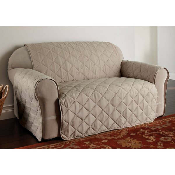 Duvig Box Cushion Loveseat Slipcover by Red Barrel Studio