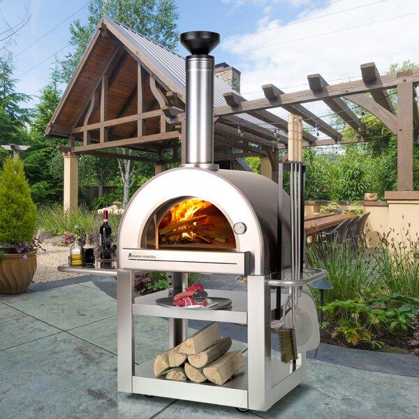 Pronto 500 Outdoor Pizza Oven by Forno Venetzia