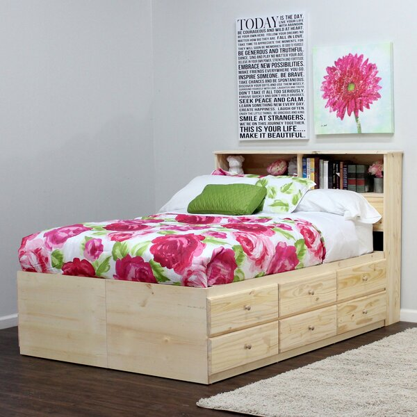Algere Mates and Captains Bed with Drawer by Winston Porter