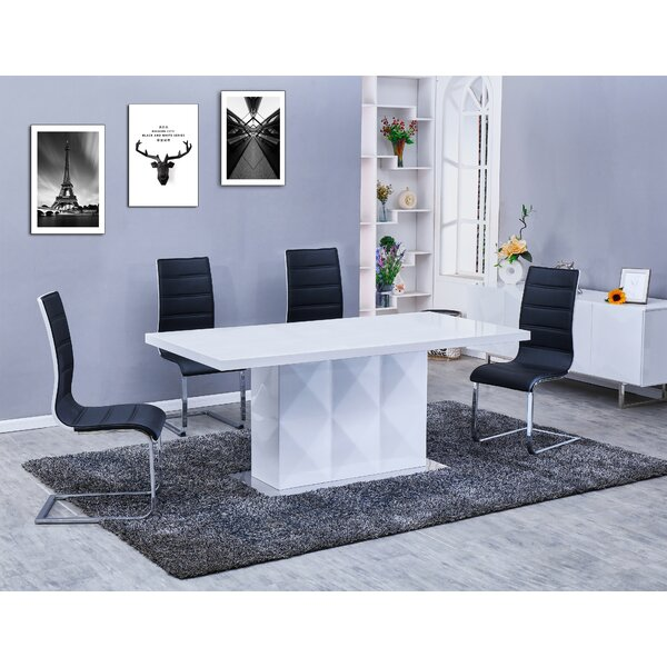 Melia 5 Piece Dining Set by Orren Ellis