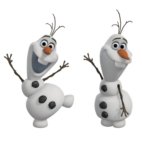 Popular Characters Frozen Olaf The Snowman Wall Decal by Room Mates