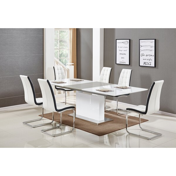 Sudha 5 Piece Extendable Dining Set by Orren Ellis