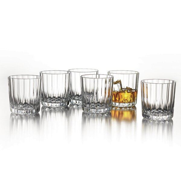 Boca Double Old Fashioned Glass (Set of 6) by Design Guild