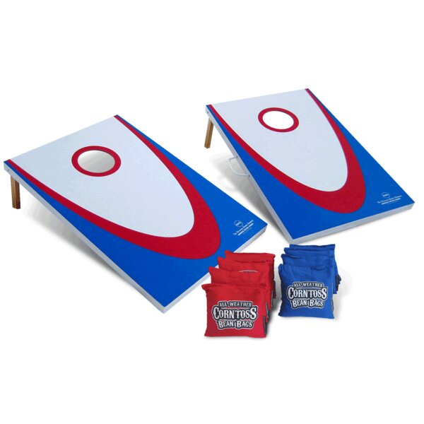 Backyard Edition Corntoss Bean Bag Game Set by Driveway Games Company