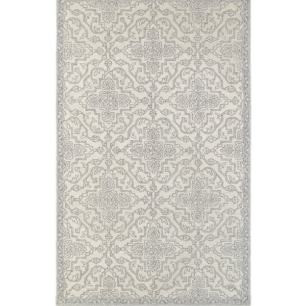 Hermínia Hand-Tufted Gray Area Rug by One Allium Way