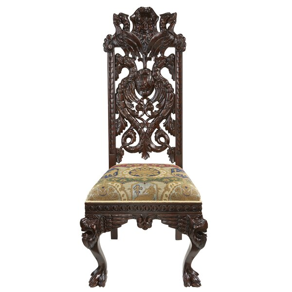 Knottingley Manor Upholstered Dining Chair by Design Toscano