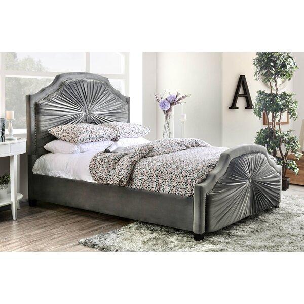 Arikara Upholstered Standard Bed by Bungalow Rose