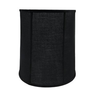 Price comparison Transitional 14 Fabric Drum Vertical Piping Lamp Shade By Red Barrel Studio