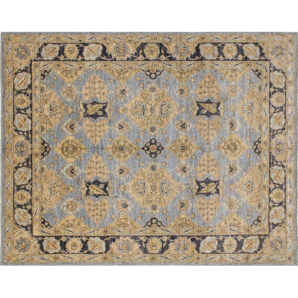 One-of-a-Kind Romona Hand-Knotted Gray Indoor Area Rug by Isabelline