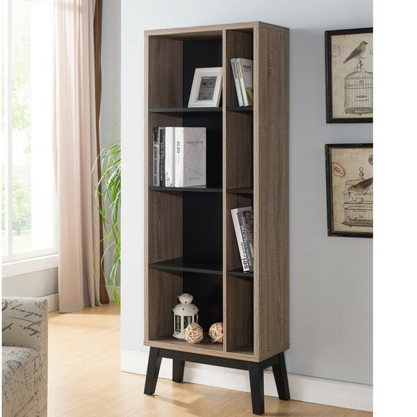 Holt Wooden Display with 4 Shelves Standard Bookcase by Wrought Studio