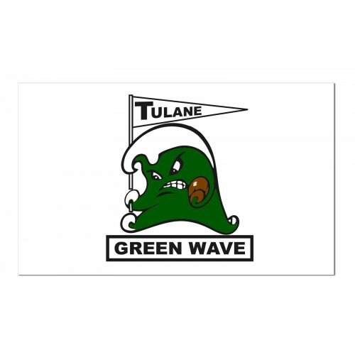 Tulane Polyester 3 x 5 ft. Flag by NeoPlex