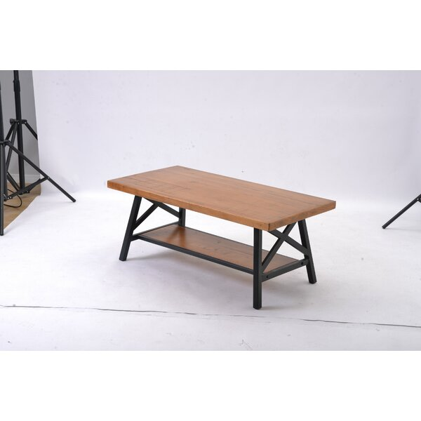 Eby Solid Wood 4 Legs Nesting Table With Storage By Loon Peak