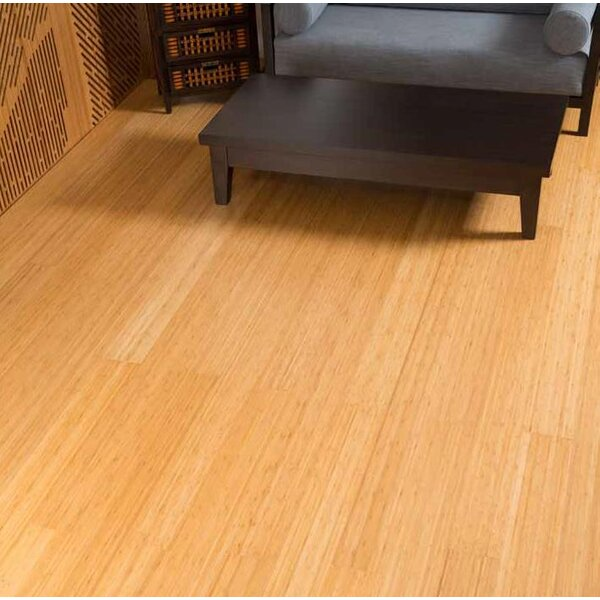 Prefinished Solid Bamboo Flooring in Natural by Hawa Bamboo