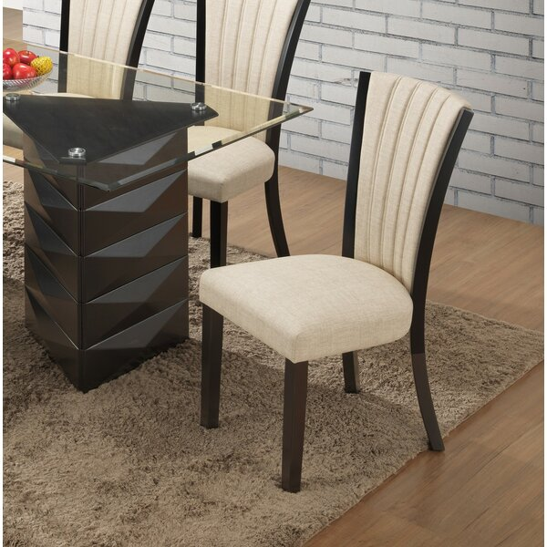 Clingmans Upholstered Dining Chair by Wrought Studio Wrought Studio™
