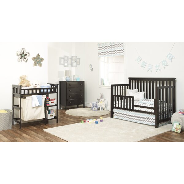 Palisades 4-in-1 Convertible 3 Piece Crib Set by S