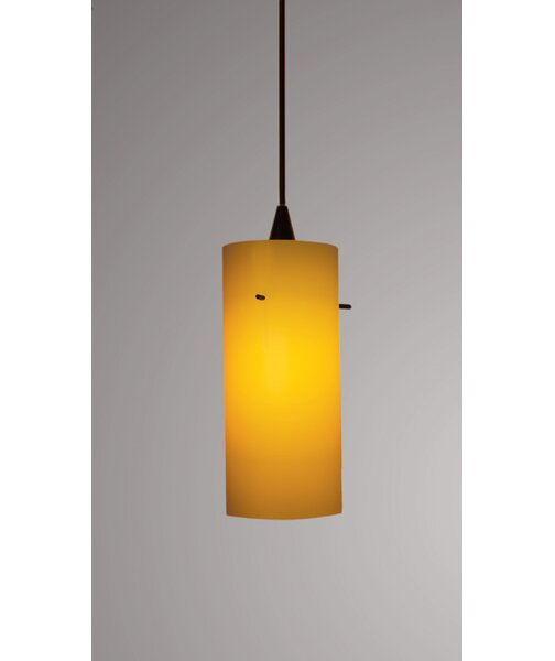 Dax Monopoint 1-Light Cylinder Pendant by WAC Lighting