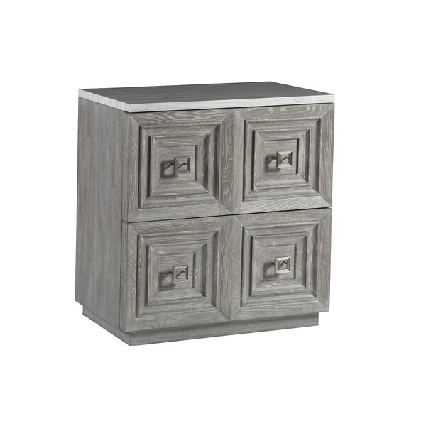 Signature Designs Van Dyck 2 Drawer Accent Chest by Artistica Home