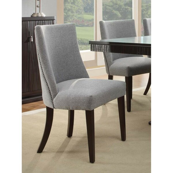 Cheyenne Upholstered Dining Chair (Set of 2) by Rosdorf Park
