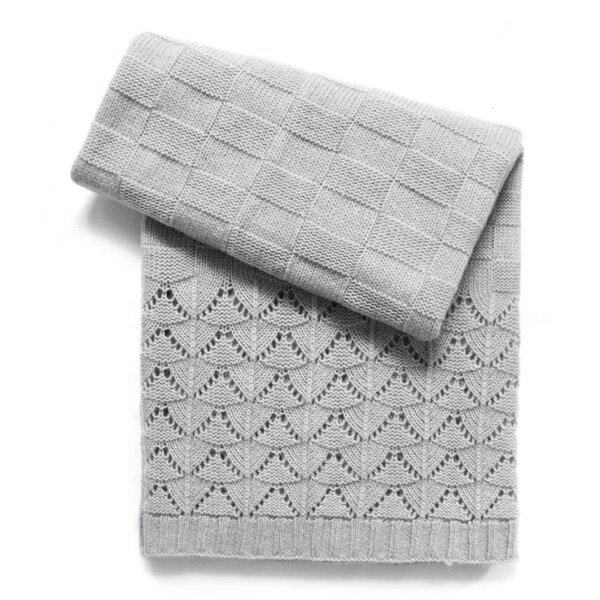 Florence Wool Blend Baby Blanket by Esteffi