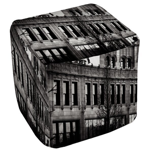 Urban Façade Pouf by Manual Woodworkers & Weavers