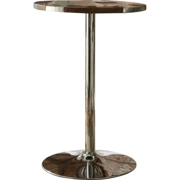 Stgermain Faux Leather Upholstered Pub Table by Orren Ellis
