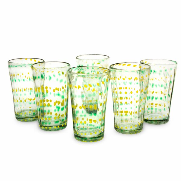 Fresh Blown 16 oz. Glass (Set of 6) by Novica