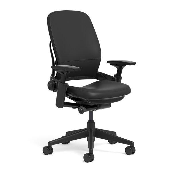 Steelcase Leap® Leather High-Back Desk Chair & Reviews | Wayfair