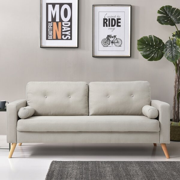 Stay On Trend This Carson Modern Mid-Century Sofa by George Oliver by George Oliver