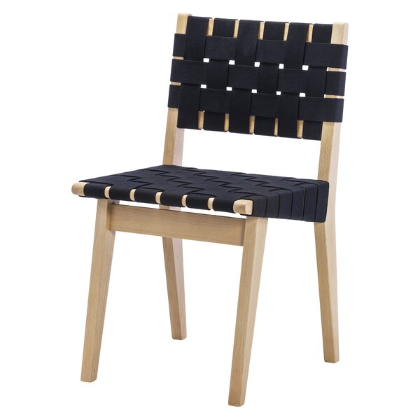 Woven Solid Manufactured Wood Solid Wood Side Chair In Beige By Design Tree Home