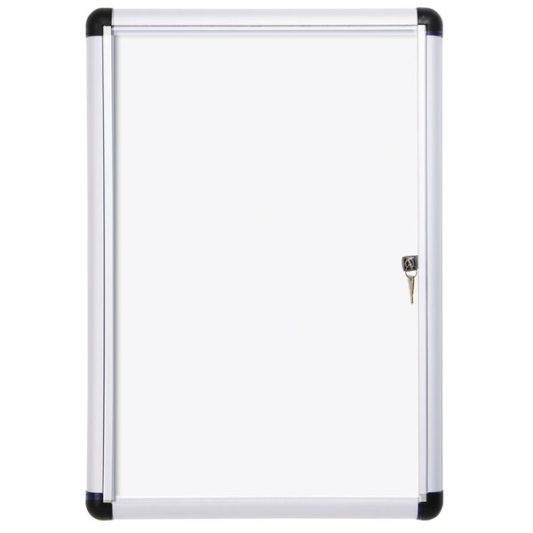 Outdoor Dry Erase Wall Mounted Magnetic Whiteboard by Mastervision