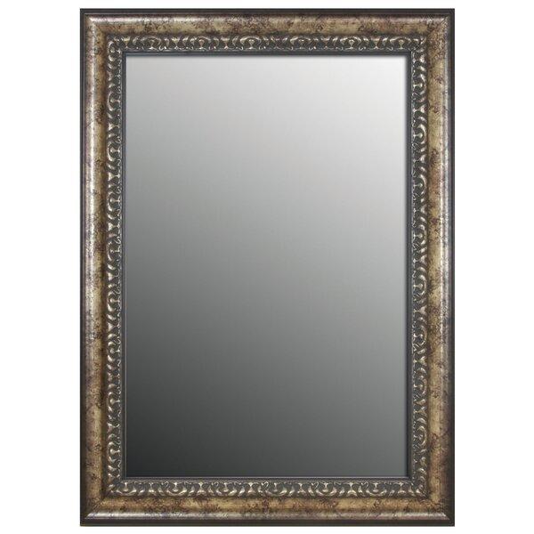 Waxman Vintage Silver Wall Mirror by Astoria Grand
