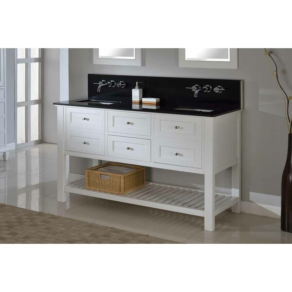 Mission Spa Premium 60 Double Bathroom Vanity Set by Direct Vanity Sink