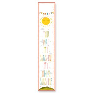 Stella You Are My Sunshine Growth Chart by Viv + Rae