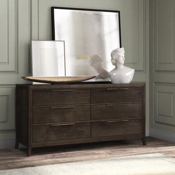 Ratliff 6 Drawer Double Dresser by Brayden Studio