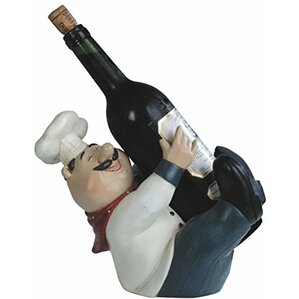 Barton Upright Chef Tabletop Wine Bottle Rack by Fleur De Lis Living