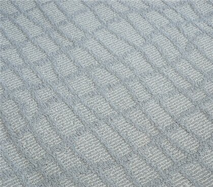Alexios Crosshatch Gray Area Rug by Wrought Studio