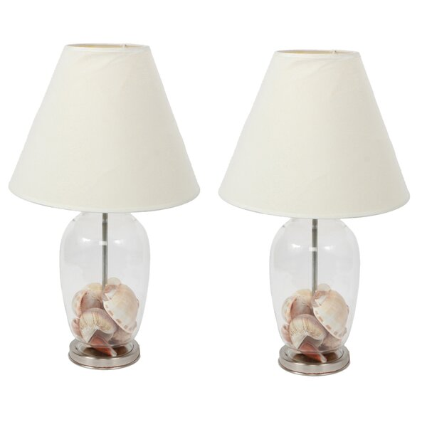 Fillable Craft 14.5 Table Lamp (Set of 2) by DEI