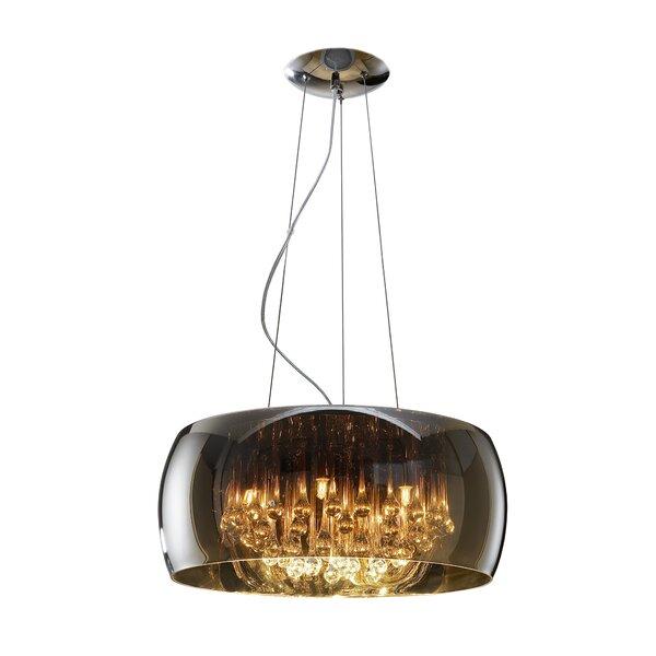 schuller argos 5 light glass pendant reviews. Black Bedroom Furniture Sets. Home Design Ideas