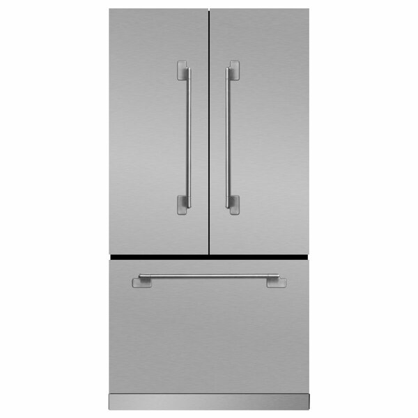 Elise 22.2 cu. ft. Counter Depth French Door Refrigerator by Marvel