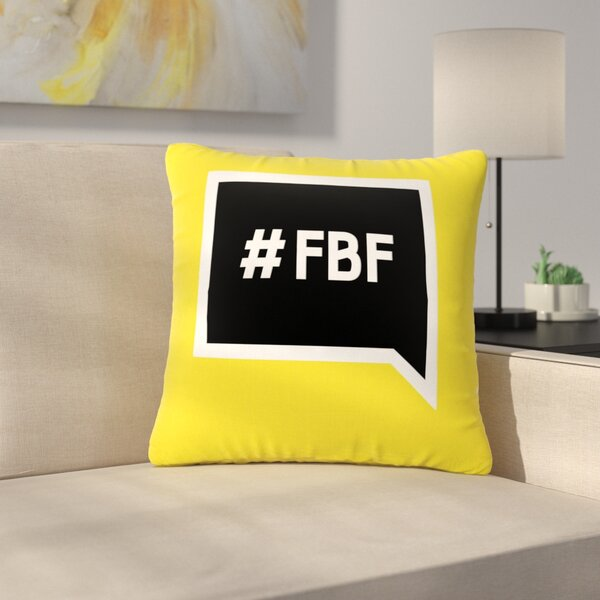 Flash Back Friday Outdoor Throw Pillow by East Urban Home