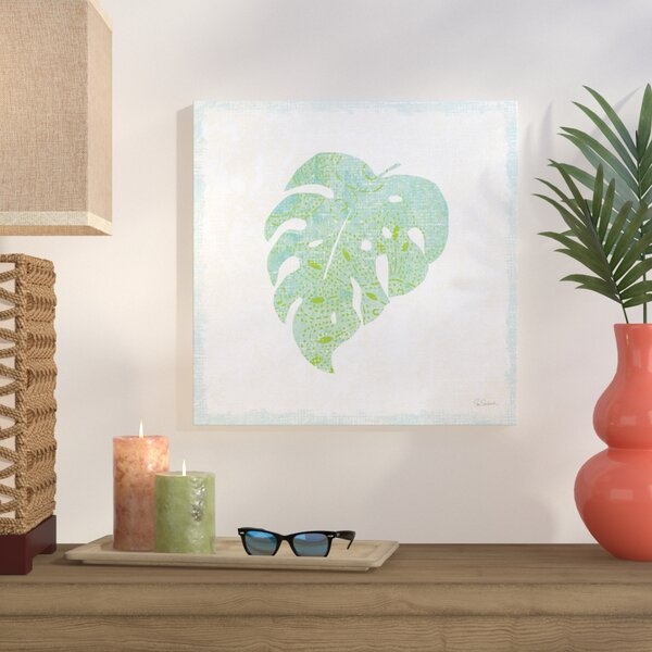 Flamingo Tropicale VIII Graphic Art on Wrapped Canvas by Bay Isle Home