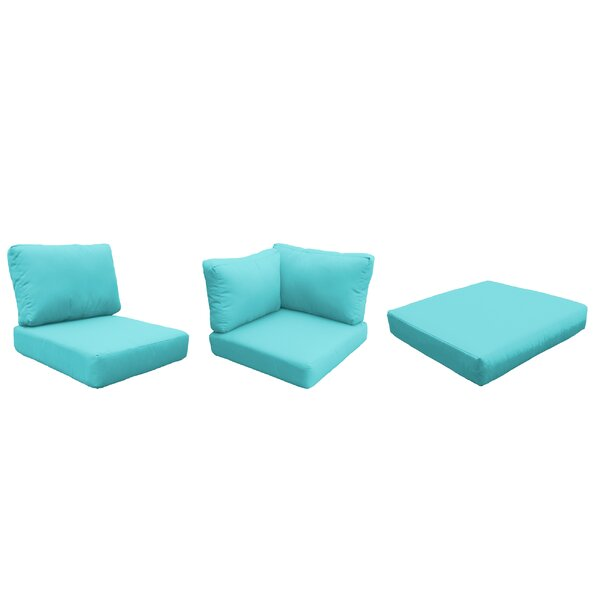 Eldredge 14 Piece Outdoor Cushion Set by Rosecliff Heights
