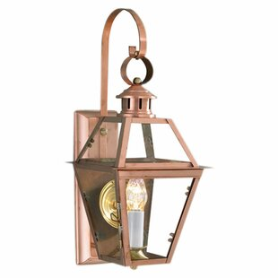 Best Reviews Ximena 1-Light Outdoor Wall Lantern By Breakwater Bay