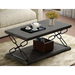 Krieger Coffee Table Williston Forge